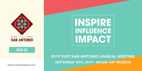 2019 Visit San Antonio Annual Meeting tickets