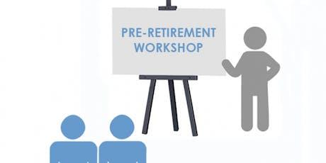 MYCSP Pensions - Pre-Retirement Course tickets