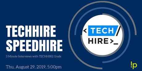 TechHire - Speed Hire tickets