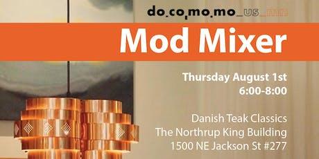 Mod Mixer 2019 - August 1st, Danish Teak Classics tickets