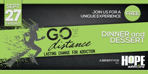 Hope for Addiction Go the Distance Event