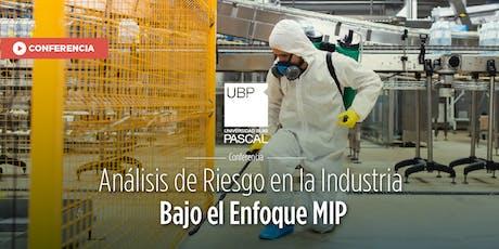 Conferencia: Análisis de Riesgo en la Industria - Tucumán entradas