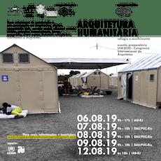 Arquitetura Humanitária - refúgio e acolhimento ingressos