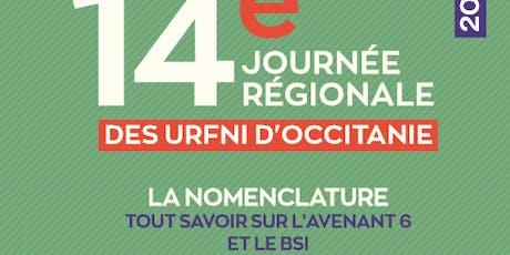 14 eme journée scientifique régionale URFNI billets
