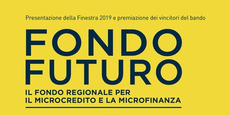 Premiazione vincitori Bando Fondo Futuro biglietti