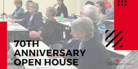 Communiversity 70th Anniversary Open House tickets