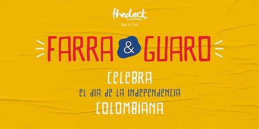 Farra y Guaro - Colombia: Día de la Independencia at thedeck