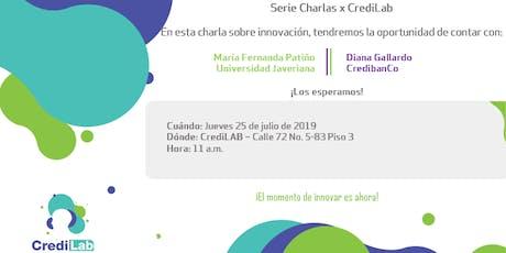 Charlas X Credilab tickets