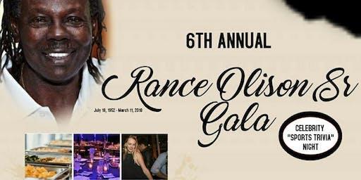 "6th Annual Rance Olison ""Celebrity Sports Trivia Night"" Gala"