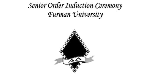 Senior Order Induction Ceremony 2020