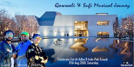 Qawwali & Sufi Musical Journey in Auditorium of Aga Khan Museum tickets