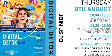 Digital detox : A necessity tickets
