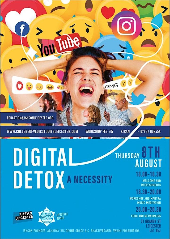 Digital detox : A necessity image