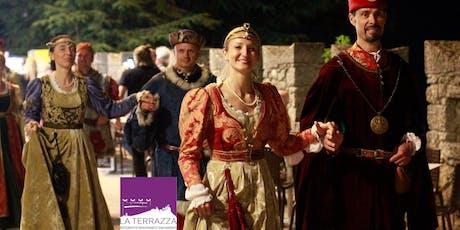 Il Medioevo a La Terrazza biglietti