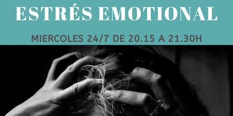 Taller de Estrés Emocional  entradas