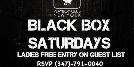 BLACK BOX SATURDAYS  tickets