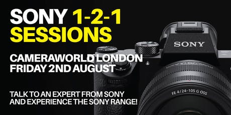 Sony 1-2-1 Sessions - London tickets