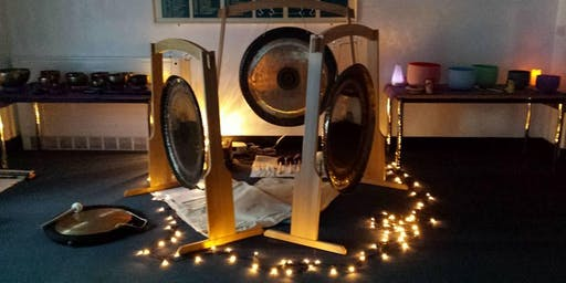 Sacred Sound Inspirations Yuletide Gong Bath Epping 11th December 2019