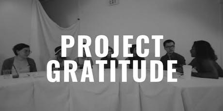 Project Gratitude Screening tickets