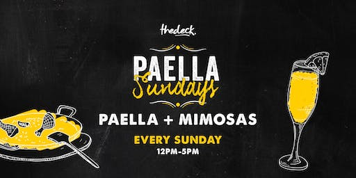 Paella Sundays at thedeck in Wynwood