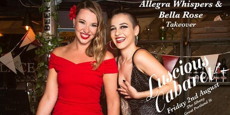 Allegra Whispers & Bella Rose Takeover tickets