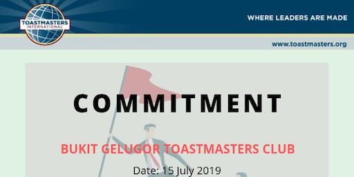 Bukit Gelugor Toastmasters Club (29 July 2019 - Monday)