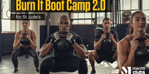 Burn It Boot Camp 2.0 for St. Jude's