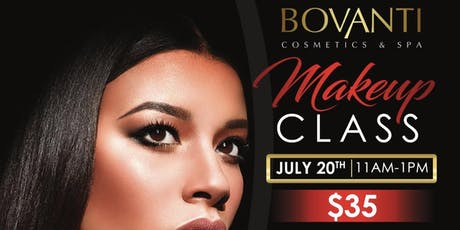 Summer Makeup Class with Bovanti Cosmetics tickets