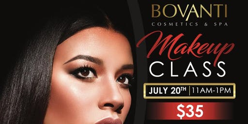 Summer Makeup Class with Bovanti Cosmetics