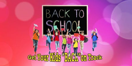 "Get your kids ""BACK"" on Track tickets"