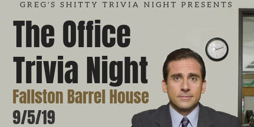 """The Office"" Trivia Night 3.0  - Summer 2019 Questions"