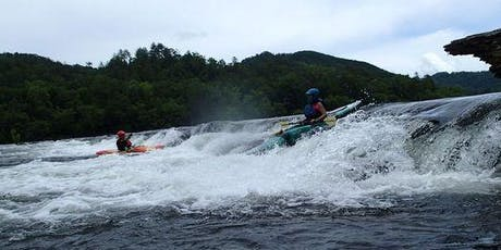 Hiwassee River Trip (Class 2 rapids) Labor Day August 31-September 2 tickets
