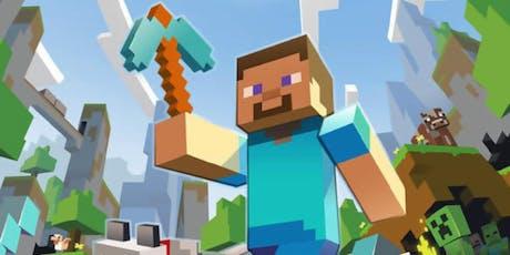 Minecraft-Workshop für Eltern und Kinder ab 8 Jahren (22.02.2020) tickets