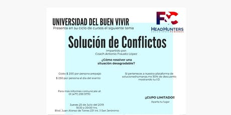 Solución de Conflictos entradas