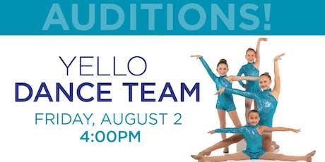 Yello Dance Team Auditions  tickets