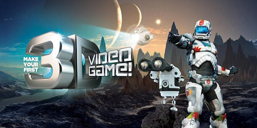 Summer Camp Make Your First 3D Video Game! Ages 8-14