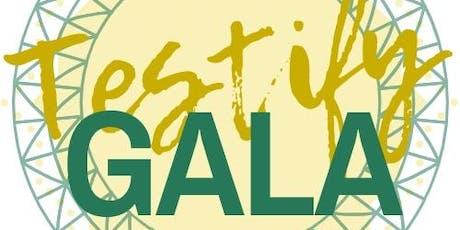 Testify Gala tickets