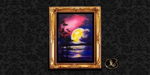 Sip & Paint: Hiding Moon