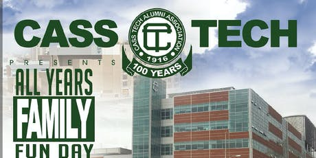 2019 Cass Tech All-Years Picnic & Family Fun Day tickets