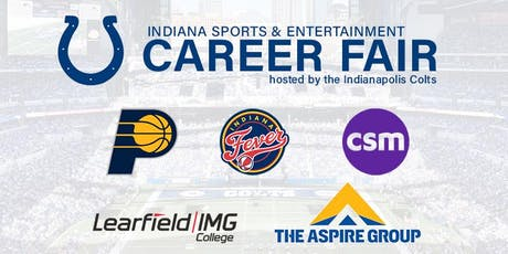 Indiana Sports & Entertainment Career Fair hosted by the Indianapolis Colts tickets
