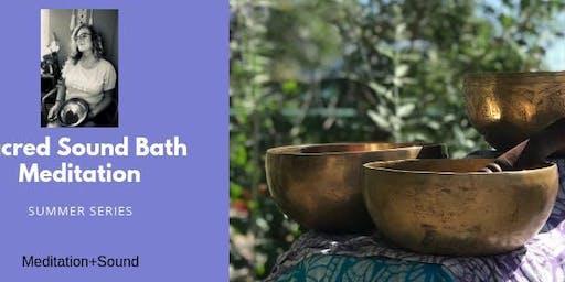 Summer Sound Bath Meditation