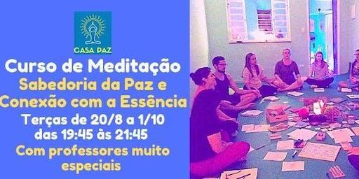 Curso de Meditação : Sabedoria da Paz e Conexão com a Essência