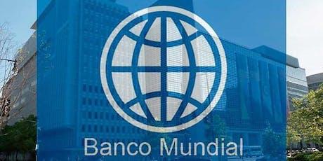 Conferencia con el Banco Mundial entradas