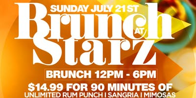 $14.99 UNLIMITED Drinks for Brunch + Day Party At Starz Long Island