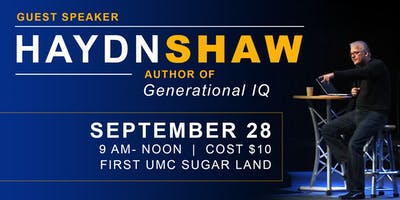 Generational IQ Workshop with Haydn Shaw