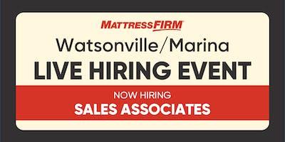 Watsonville/Marina - On-the-Spot Interviews