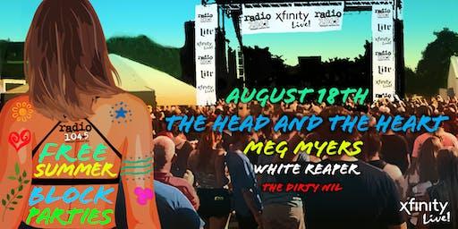 Radio 104.5 Summer Block Party 8/18