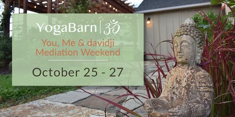 davidji Meditation Weekend tickets