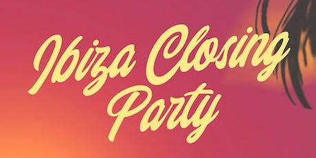 Ibiza Closing Party tickets