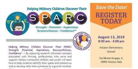 Helping Military Children Discover their SPARC  biglietti
